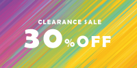 CLEARANCE SALE 30%OFF